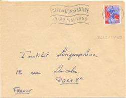 ALGERIE CONSTANTINE R.P. CONSTANTINE OMec SECAP 23-5-1960  ~~ FOIRE DE CONSTANTINE ~~ 19-29 MAI 1960 ~~ - Algerien (1924-1962)