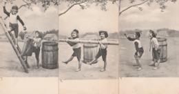 CPA  - Série De 6 CPA  Avec Enfants,  Très Bon état , Très Belles Cartes - 036 - Groupes D'enfants & Familles