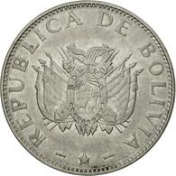 Monnaie, Bolivie, Boliviano, 1997, TTB, Stainless Steel, KM:205 - Bolivië