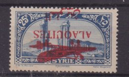 ALAOUITES : PA . N° 16a * . SURCHARGE RENVERSEE . 1929 . - Alaouite (1923-1930)