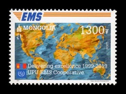 Mongolia (2019) - Set -  /  EMS - Joint Issue - Post