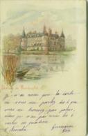 CPA - CHATEAU DE RAMBOUILLET - CHROMOGRAVURE MAURICE REYMOND - 1900s  (BG4264) - Rambouillet (Château)
