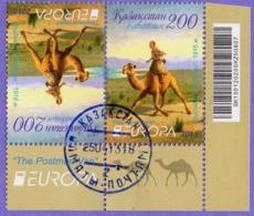 Kazakhstan 2013.  Europa - CEPT. Postman On Camel. Used - 2013