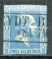 Allemagne   Y&T   12   Obl   ---    Mi  11    --   TB - Preussen