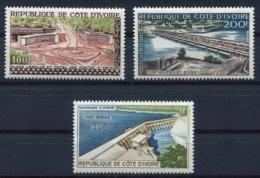 RC 14004 COTE D' IVOIRE PA N° 18 / 20 HOTEL DES POSTES PONT HOUPHOUET BOIGNY ET BARRAGE D'AYAMÉ NEUF ** TB - Ivory Coast (1960-...)