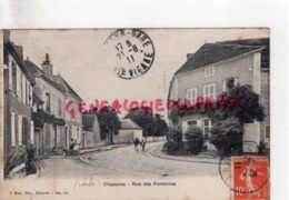 10 - CHAOURCE- RUE DES FONTAINES - Chaource