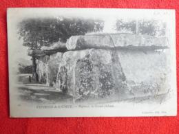 CPA DOLMEN & MENHIR Environs De SAUMUR Bagneux Le Grand Dolmen 1903 - Dolmen & Menhirs
