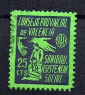 Viñeta Consejo Provincial De Valencia. - Viñetas De La Guerra Civil