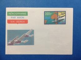 1980 ITALIA AEROGRAMMA POSTALE NUOVO MNH** TRASVOLATA ATLANTICA - Interi Postali