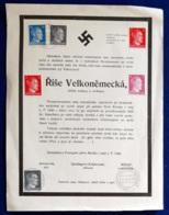 Germania Reich Volantino Di Propaganda / Propaganda Flyer 21/5/1945 VF/F - Germania
