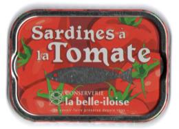 Puxisardinophilie - Boite à Sardines (vide) à La Tomate - La Belle-iloise - Unclassified
