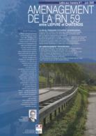 3 Fascicules, Aménagement De La RN 59 Entre Liepvre Et Chatenois - Documenti Storici