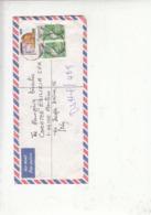 NIGERIA  2006 - Lettera Raccomandata Per Italia  - Leone - Uccelli - Nigeria (1961-...)