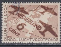 Pays-Bas N° 277 O  Au Profit De La Caisse Nationale De Secours De L'aviation, Oblitération Très Faible Sinon TB - Usati