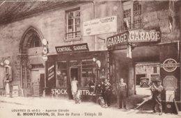 95-Louvres 1931 - Agence Citroen E.MONTARON 26 Rue De Paris (Central Garage, Pompes à Essence) - Louvres