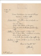 Santé Médecine: Examen Bacteriologique Recherche De Bacille De Loeffer  1945  CLAMART - Vieux Papiers