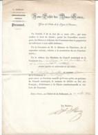 SECONVIGNY  Nomination Du Maire ( Mr BONIN PIERRE ) Signé Le Préfet Des Deux Sèvres HEINZ - Documentos Antiguos