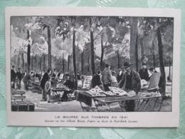 La Bourse Aux Timbres  . Expo De Paris 1941 - Francia
