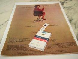 ANCIENNE PUBLICITE LA NOUVELLE CIGARETTES MURATTI 1966 - Raucherutensilien (ausser Tabak)
