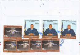 RDC DRC Congo 2005 Mbanza-Ngungu Buffalo Mask President Kabila Cover - Covers