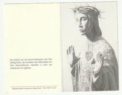 Doodsprentje Zuster Joachim Ludovica VAN MECHELEN Kanunnikes Heilig Graf Turnhout 1908 - 2001 - Images Religieuses