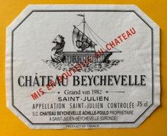 11727 - Château Beychevelle 1982 Saint-Juien - Bordeaux