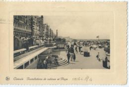 Oostende - Ostende - Installations De Cabines Et Plage - Ern. Thill No 8 - 1936 - Oostende