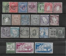IRLANDE - YVERT N° 25/26+29+33+40/49+51+55+59+60+62+65+71/72  */OB MH/Used  - COTE = 77 EUR. - 1922-37 Stato Libero D'Irlanda
