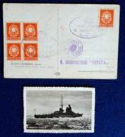 Italia Regno Incrociatore Gorizia Cartolina Con Annullo Speciale VF/F - 1900-44 Vittorio Emanuele III