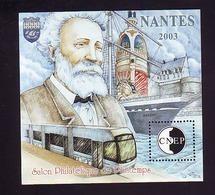 BLOC CNEP 2003 N° 38 - JULES VERNE  TRAMWAY BATEAU - CNEP