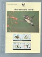 Cuba - 1992 - N°Yv. 3224 à 3227 - Oiseau-mouche / WWF Ensemble Complet 10 Scans   -  Car 121 - W.W.F.