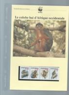WWF 1992 GUINEA-BISSAU / GUINEE BISSAU - Mi. 1185-88**  Singe Ensemble Complet 10 Scans   -  Car 122 - W.W.F.