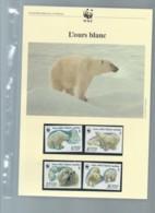 Russie - Faune WWF - L'OURS BLANC  , Y&T 5391 à 5394    Ensemble Complet 10 Scans   -  Car 125 - W.W.F.