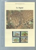 Belize 1983; WWF WildLife Fauna Animals Jaguar,     Ensemble Complet 10 Scans   -  Car 126 - W.W.F.
