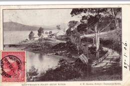 1882/ Shipwright's Point, Huon River 1906 - Australien