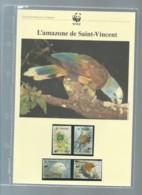 SAINT VINCENT 1989 WWF L'AMAZONE DE ST VINCENT, Ensemble Complet 10 Scans   -  Car 127 - W.W.F.