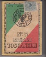 PAQUET CIGARETTES VIDE  CIGARI TOSCANELLI - Empty Cigarettes Boxes