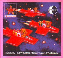 BLOC CNEP N° 25 ** NEUF LUXE 51° SALON PHILATELIQUE AUTOMNE PARIS 1997 CROIX ROUGE - CNEP