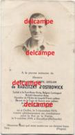 Oorlog Guerre Henry De Radzitzky D' Ostrowick Ouffet Soldaat Belgian Brigade Liberation Piron Gesneuveld Wessem NL 1944 - Devotieprenten