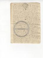 /!\ 1407 - Parchemin - 17xx Quinze Floréal - Commune De La Faye (Limoges) - Manoscritti