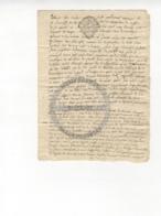 /!\ 1408 - Parchemin - 17xx - Commune De La Faye (Limoges) - Manoscritti