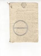 /!\ 1409 - Parchemin - 17xx  - Commune De Ruffec (Charente) - Manoscritti