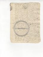 /!\ 1410 - Parchemin - 1766  - Commune De Ruffec (Charente) - Manoscritti