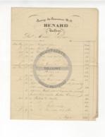 /!\ 1429 - Parchemin - 1848 - Paris - 2 Factures : Renard Tailleur - Manoscritti