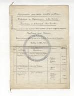 /!\ 1418 - Parchemins - 1857 - Paris - Expropriation Blvd Sébastopol Et St Germain - Manoscritti