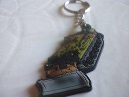 Militaria-porte-clef 3eme Rgt Du Genie-cellule Recrutement - Key-rings