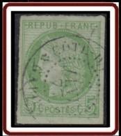 Colonies Générales - N° 17 (YT) N° 17 (AM) Oblitéré De Cote-d'Or Et Gabon / Gabon. - Ceres