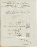 42 Nantes 26 X 7 /  An 2 - 7 .9.1794 Signature Daviaud Sous-chef D'administration De La Marine - 1701-1800: Précurseurs XVIII
