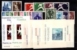 Espagne Petite Collection Neufs ** MNH 1954/1964. Bonnes Valeurs. TB. A Saisir! - Colecciones