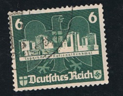 1935 23. Juni Int. Briefmarkenausstellung Mi DR 577 Sn DE B68b Yt DR 536 Sg DR 574 Gestempelt - Germania